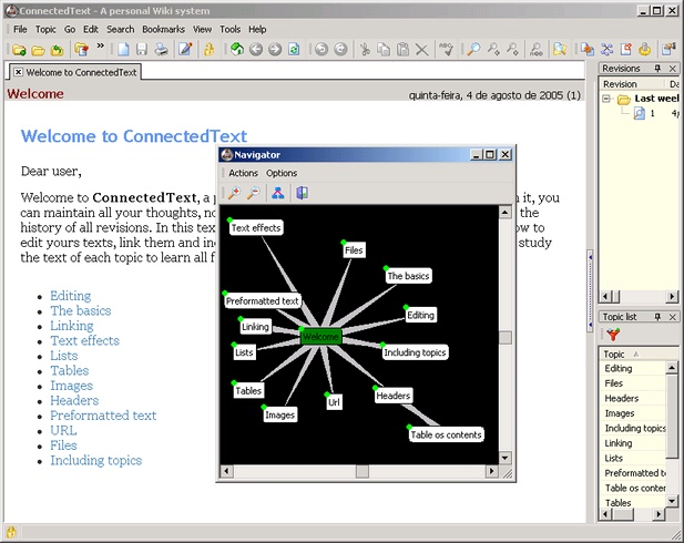 Click to view ConnectedText 5.0.0.7 screenshot